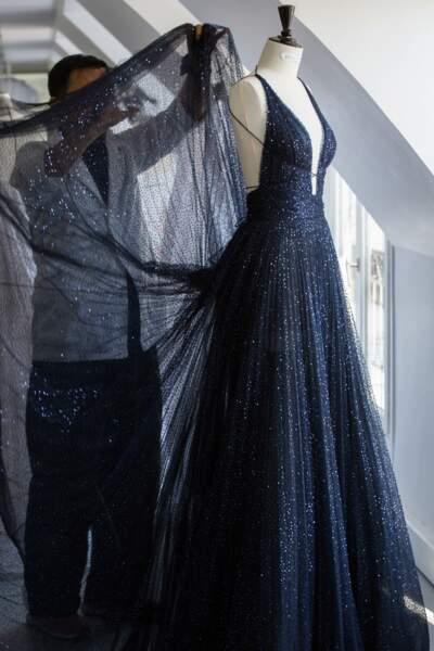 La robe Dior de Chiara Ferragni a nécessite un travail ultra minutieux de la part des équipes de la maison.