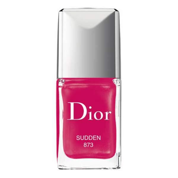 Dior Vernis, teinte  873 Sudden, édition limitée, 26,00 € sephora.com