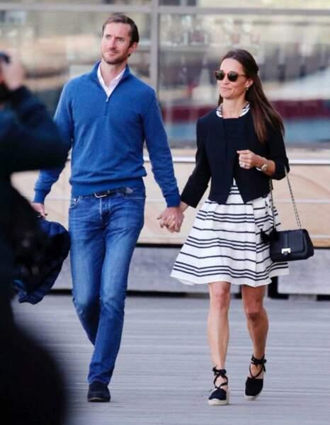 Pippa Middleton et James Matthews en pleine lune de miel en Australie, on craque pour les espadrilles !
