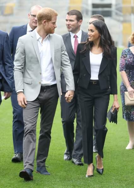 Meghan et Harry amoureux
