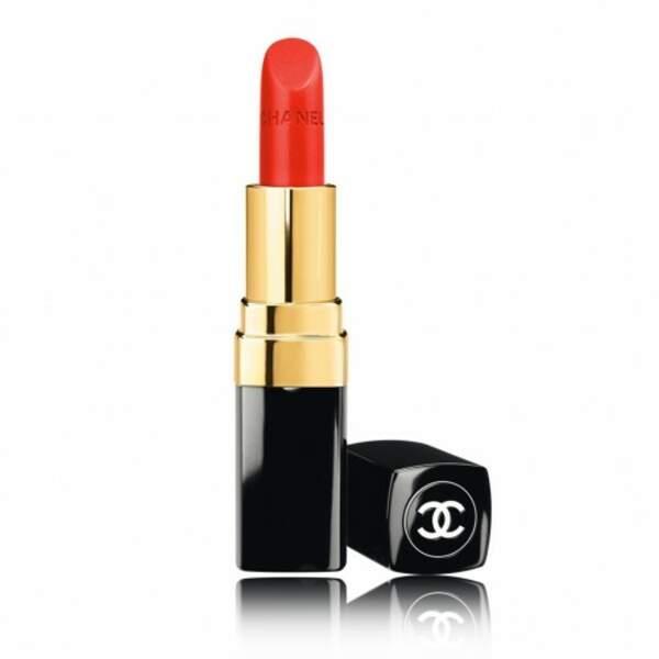 Rouge Coco de Chanel pour une belle bouche rouge