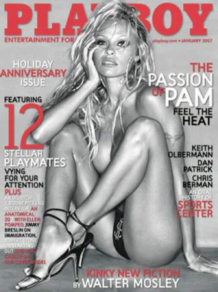 En 2007, un dollar bien placé sur Pamela Anderson fait polémique