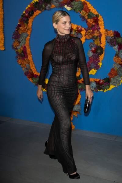 Mélanie Laurent pour l'ouverture de la saison de l'Opéra Garnier à Paris le 21 septembre 2017