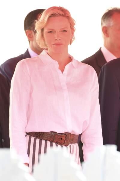Charlène de Monaco princesse lumineuse