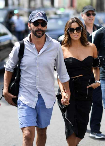 Eva Longoria et son mari José Antonio Baston sur la croisette lors du Festival de Cannes 2017