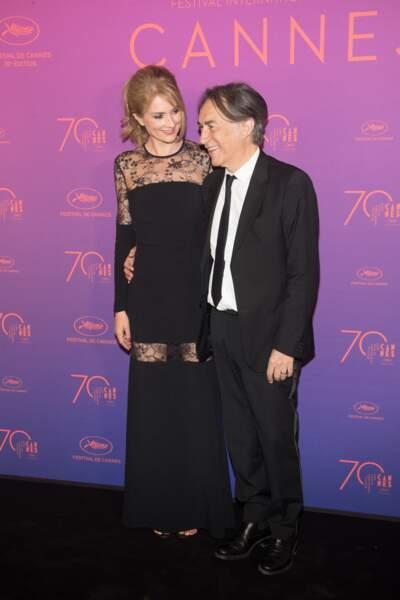 Très amoureux au dîner de cérémonie d'ouverture du Festival de Cannes en 2017