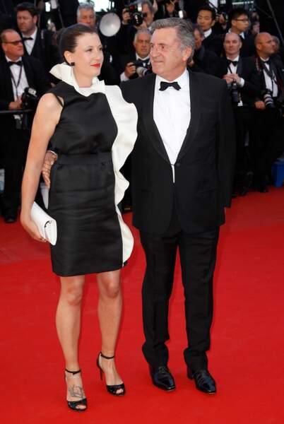 Daniel Auteuil et sa femme au 66e Festival de Cannes
