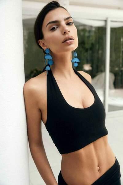 Emily Ratajkowski se dévoile mutine pour la nouvelle campagne de sa marque Inamorata