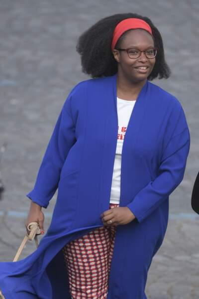 Sibeth Ndiaye a été aperçue aux cérémonies du 14 Juillet sur les Champs-Élysées