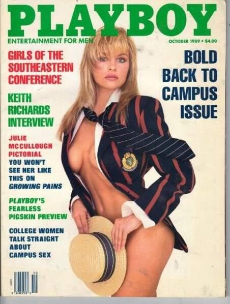 En 1989, Pamela Anderson milite pour le sexe à l'université