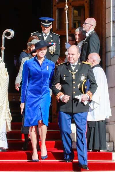 Charlène de Monaco et son mari