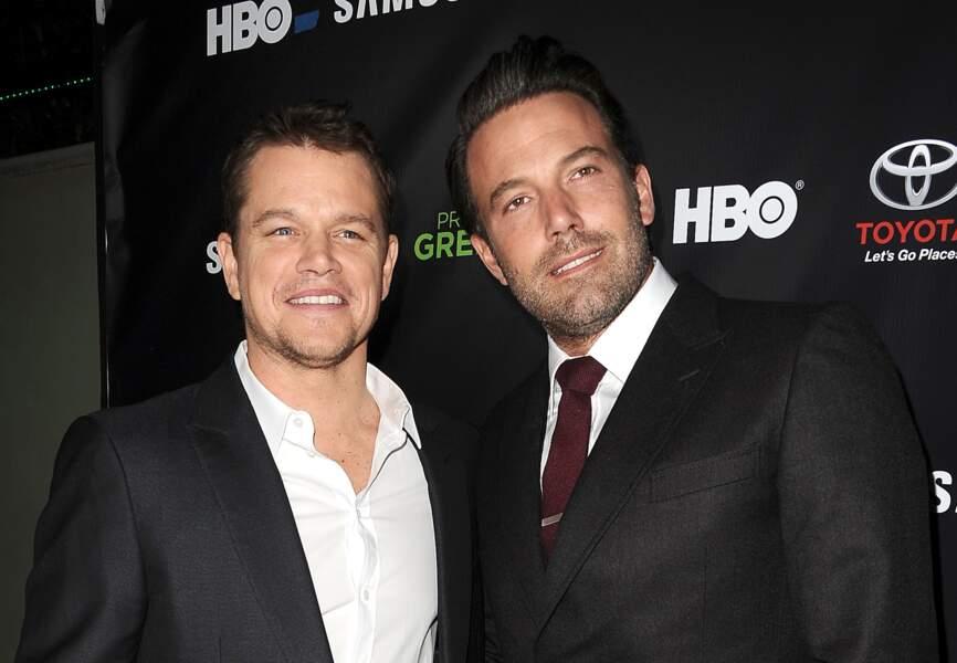Mat Damon et Ben Affleck ne sont pas qu'amis, ils sont aussi cousins... éloignés