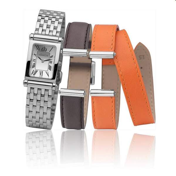 Le coffret de montre avec trois bracelets que Brigitte Macron a choisi…