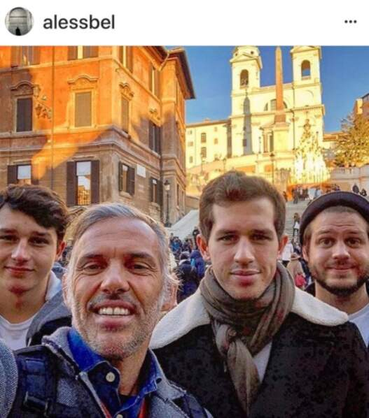 Paul Belmondo et ses 3 fils