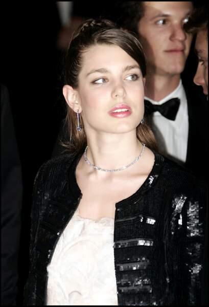 En 2006, au bal de la Rose, à Monaco.