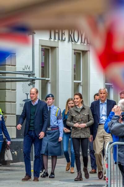 Le couple royal semble dans leur élément à Keswick le 11 juin 2019.
