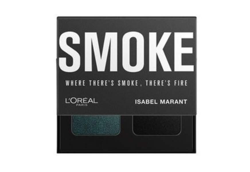 Palette Ombres à Paupières Smoke, L'Oréal Paris x Isabel Marant, 14,90€