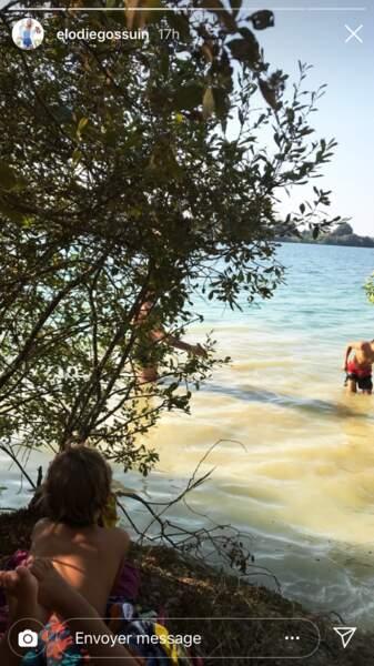 Les enfants d'Elodie Gossuin profitent à fond de leurs vacances au camping