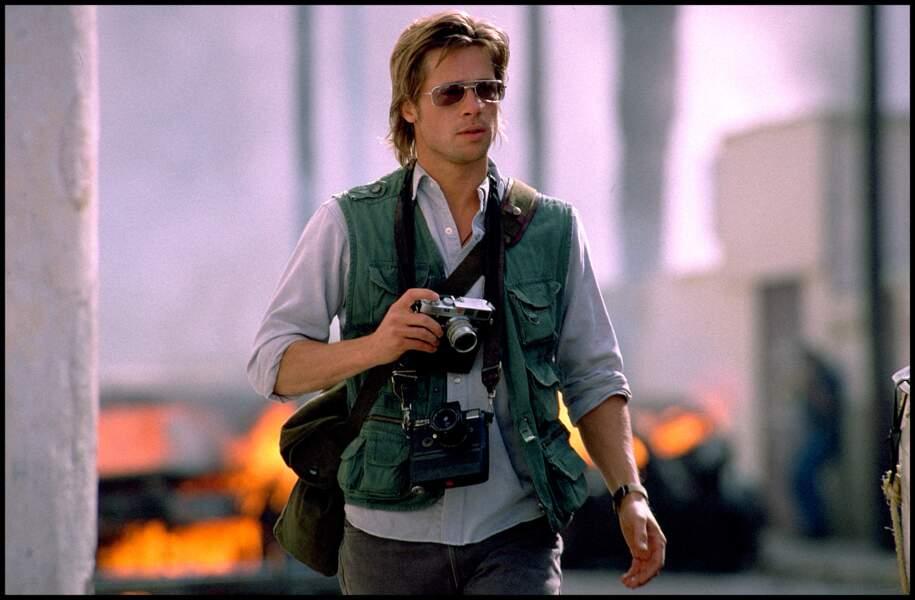 Brad Pitt dans Spy Game (2001)