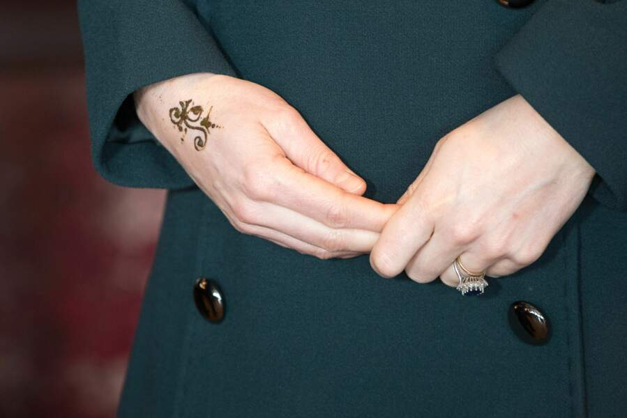Le tatouage de Kate Middleton vu de plus près