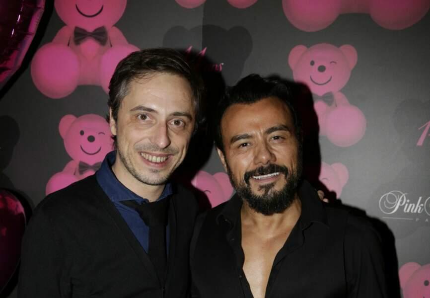 L'animateur de Paris Première et W9 Jerôme de Verdière et Muratt Atik