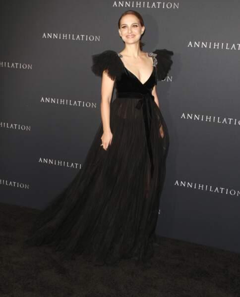 Natalie Portman à la première de 'Annihilation' au théâtre Regency Villages à Westwood, le 13 février 2018