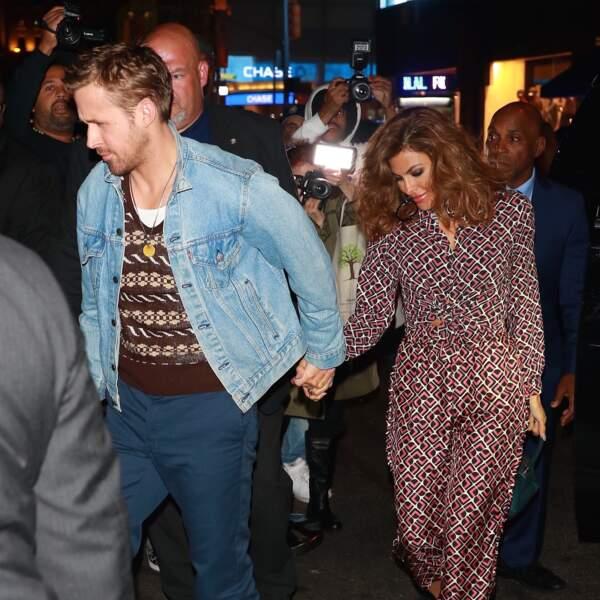 Ryan Gosling (37 ans) forme avec Eva Mendes (44 ans) l'un des couples les plus glamour d'Hollywood