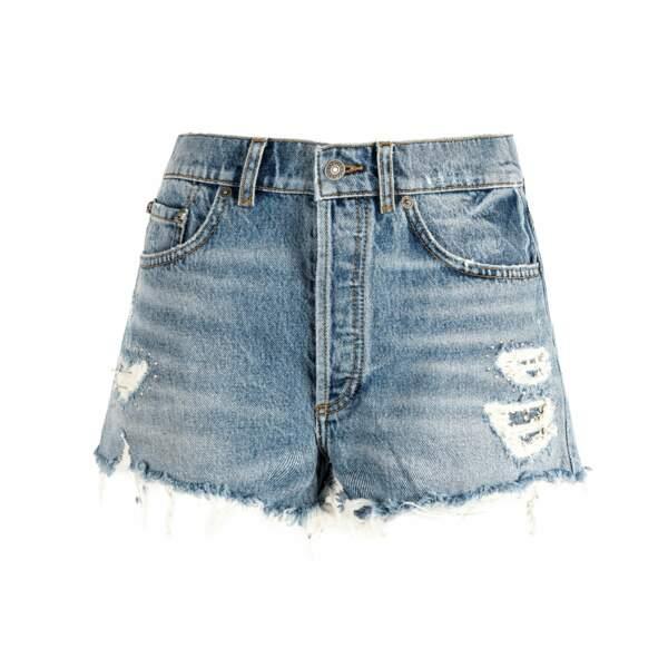 Short en jean, 138 €, The Kooples.