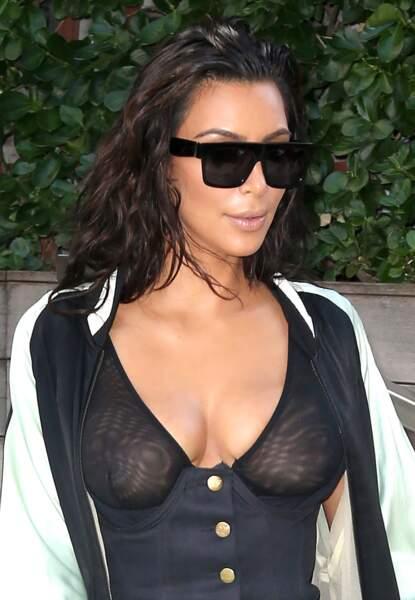 La transparence est une obsession chez Kim.