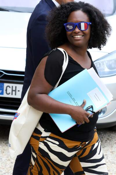 Sibeth Ndiaye a choisi d'afficher publiquement son soutien à l'équipe féminine française de football
