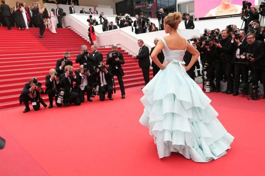 Une princesse sur le catwalk