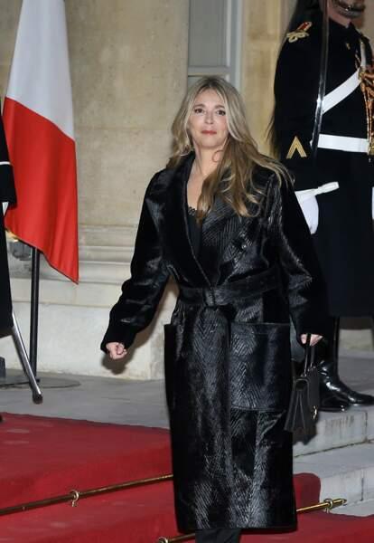Hélène Rollès était très attendue pour ce dîner d'État en l'honneur du président chinois Xi Jinping