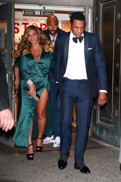 Jay-Z et Beyoncé ont assisté le 14 septembre au bal de charité organisé par Rihanna