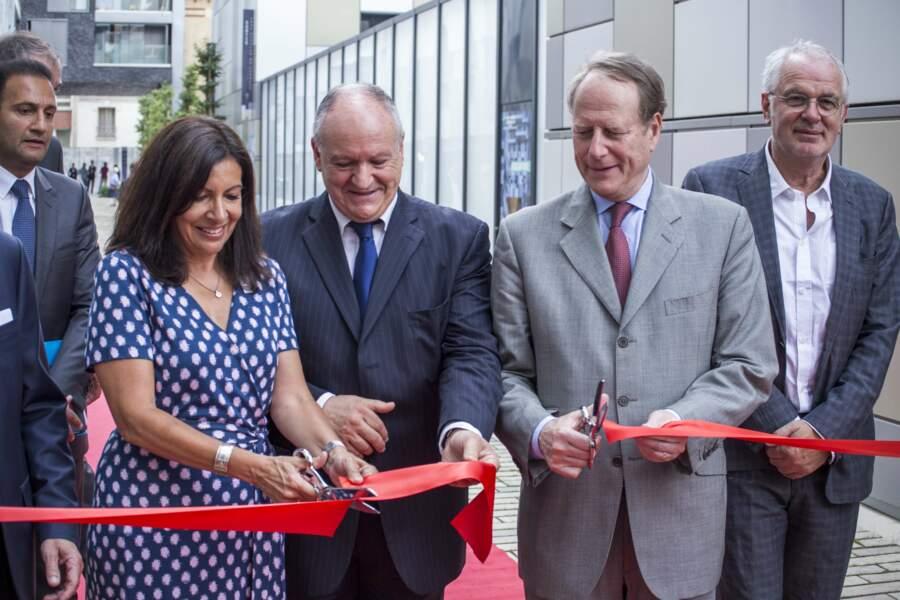 Cette semaine, Anne Hidalgo inaugurait le centre medico-social du village de Saint-Michel