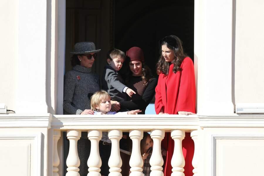 La famille princière de Monaco