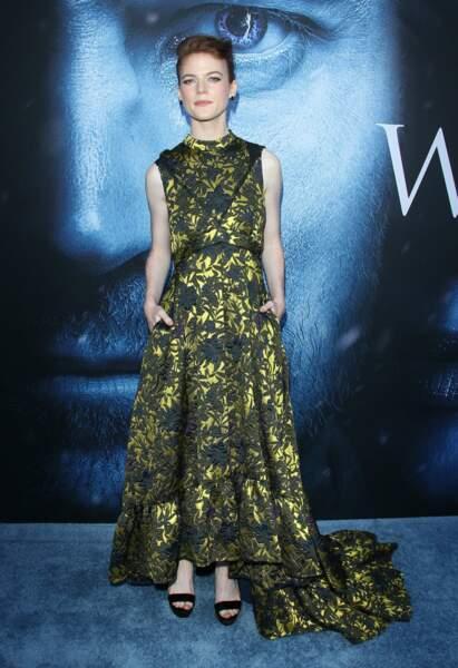 Rose Leslie à la première de Game of Thrones le 12 juillet 2017 à Los Angeles
