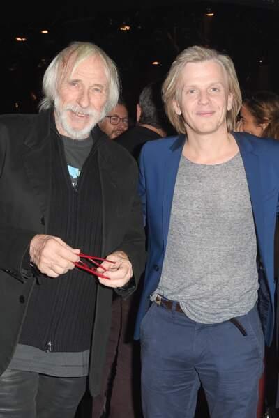 Pierre Richard et Alex Lutz lors de la projection du film de ce dernier le 3 décembre
