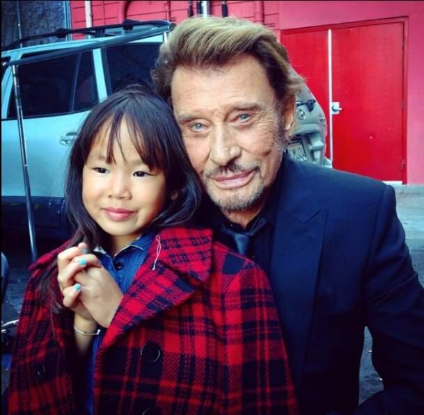 Avec Joy. Octobre 2014