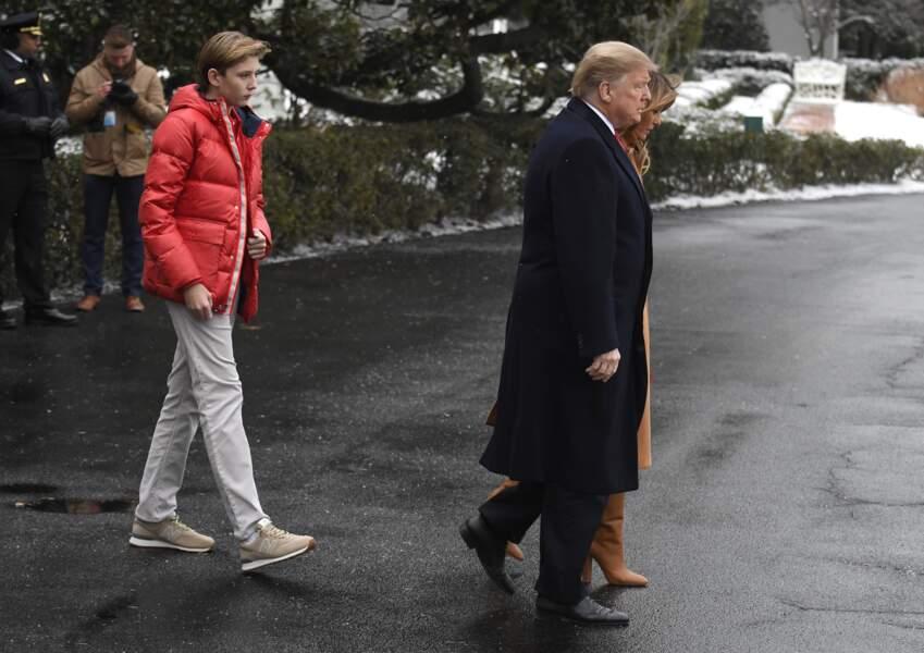 Depuis fin décembre, la First lady ne cesse de multiplier les allers-retours entre Washington et la Floride
