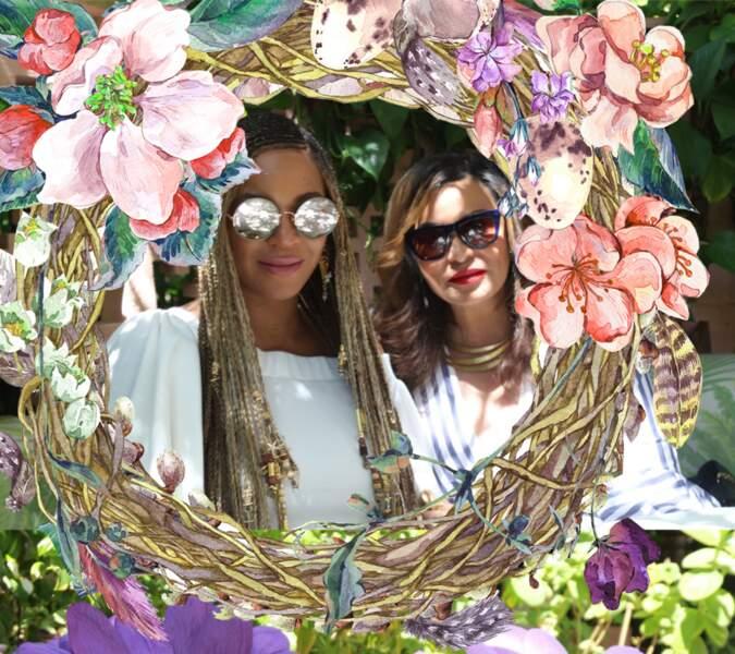 Week-end de Pâques pour Beyoncé et Blue Ivy
