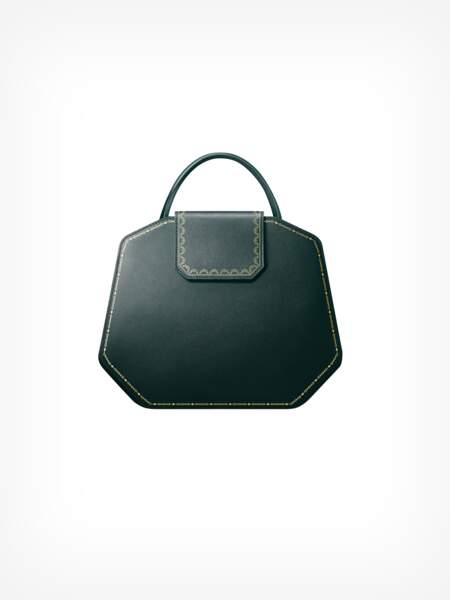 Le sac Guirlande de Cartier est disponible en 3 formats et 4 coloris, à partir de 1190 €.