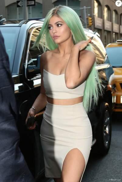 Le vert comme Kylie Jenner