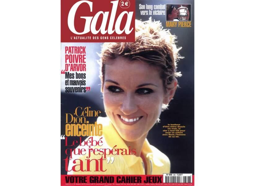 Céline Dion enceinte !