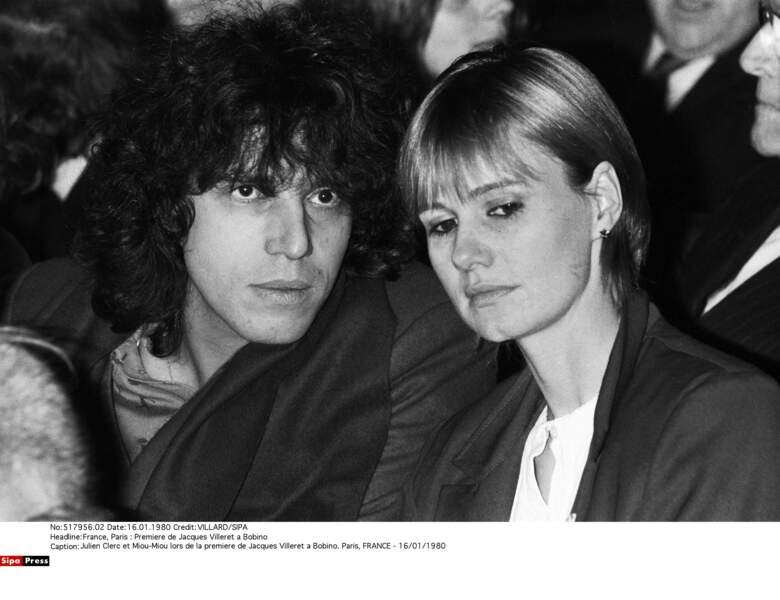 Miou-Miou et Julien Clerc ont eu une fille prénommée Jeanne.