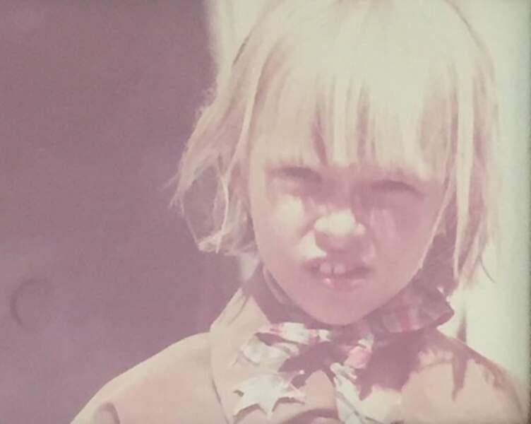 Photo de David postée sur le compte Instagram d'Ilona, à l'occasion des 50 ans du chanteur, en août dernier.