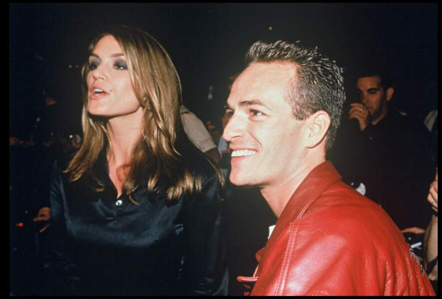 Cindy Crawford et Luke Perry en 1995