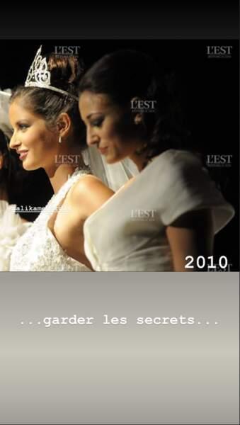 Malika Ménard et Rachel Legrain-Trapani partagent aussi une couronne, celle de Miss France