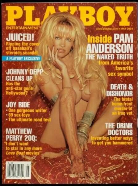 """En 2004, Pamela Anderson assume être """"le sex-symbol favori de l'Amérique"""""""