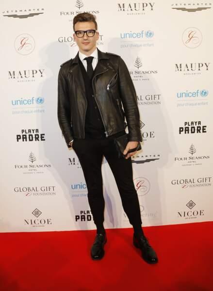"Pepe Munoz au photocall du ""Global Gift Gala"" à l'hôtel Four Seasons George V à Paris, le 25 avril 2018"