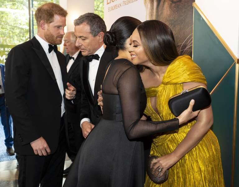 Meghan Markle ravissante avec  le prince Harry ont rencontré Jay-z et Beyoncé